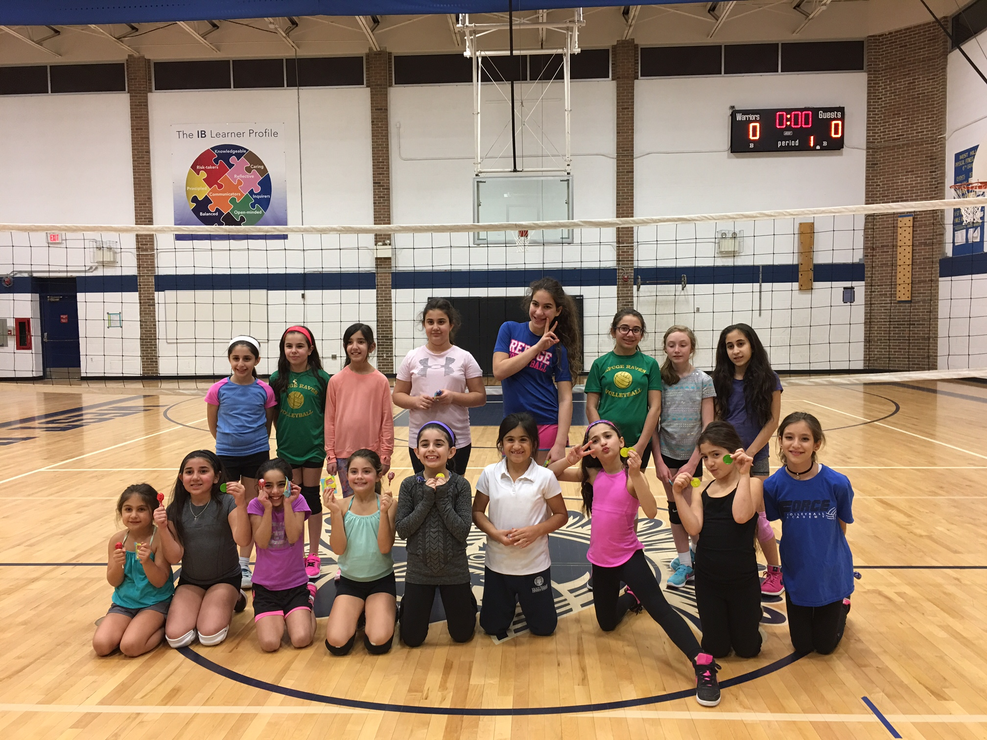 Little Spikers Force Volleyball Club Michigan