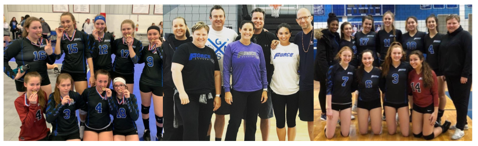 Force Volleyball Academy Team Staff Camp